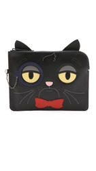 Kara Ross Fancy Cat Pouch Black
