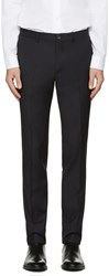Paul Smith Ps By Navy Wool Trousers