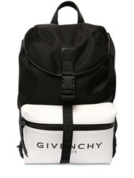 Givenchy Glow In The Dark Nylon Backpack Black