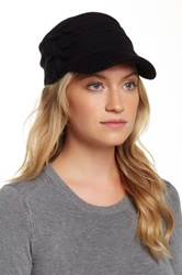 San Diego Hat Company Newsboy Wool Blend Cap Black