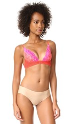 Free People Fool's Gold Underwire Bra Pink