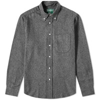 Gitman Brothers Vintage Cotton Tweed Shirt Grey