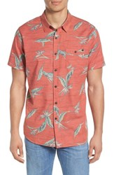 Rip Curl Jungle Woven Shirt Red