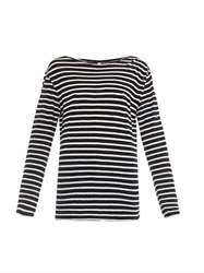 R 13 Striped Cotton T Shirt
