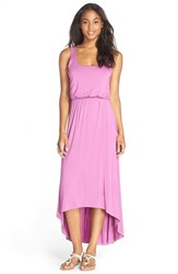 Women's Felicity And Coco High Low Hem Jersey Tank Dress Orchid