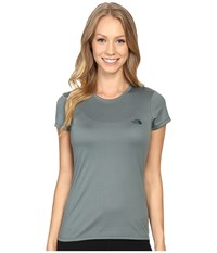 The North Face Short Sleeve Reaxion Amp Tee Balsam Green Darkest Spruce Women's T Shirt