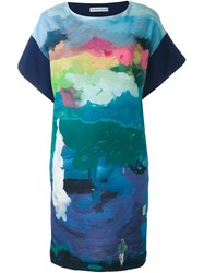 Tsumori Chisato 'Iceland' Dress Blue
