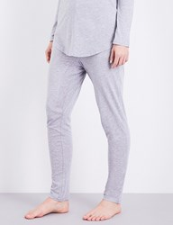 Chalmers Alice Bamboo And Cotton Blend Pyjama Bottoms Grey Marle