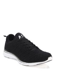 Athletic Propulsion Labs Techloom Sneakers Black White Black Rose Multi
