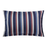 Tommy Hilfiger Preppy Look Striped Pillowcase Indigo