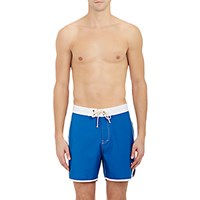 Saturdays Surf Nyc Men's Logan Swim Trunks Blue
