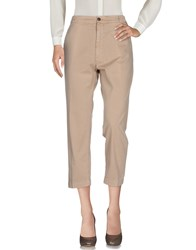 True Nyc. Casual Pants Sand
