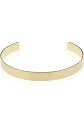 Jennifer Fisher Flat Plate Gold Plated Choker