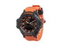 G Shock G Aviation Twin Sensor Ga1000 Black Orange Sport Watches