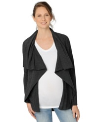 A Pea In The Pod Luxe Essentials Maternity Draped Cardigan