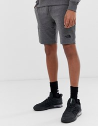 The North Face Graphic Light Shorts In Grey