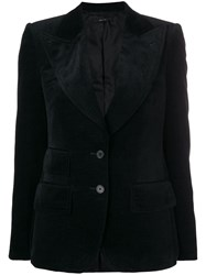 Tom Ford Classic Fitted Blazer Black