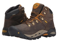 Keen Utility Cleveland Cascade Brown Inca Gold Men's Work Lace Up Boots