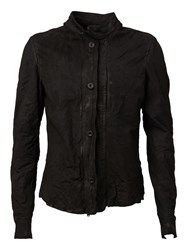 Lost And Found Buttoned Jacket Black