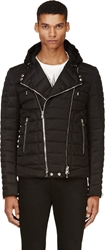 Balmain Black Quilted Puffer Jacket