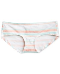 Motherhood Maternity Striped Hipster Briefs Watercolor Stripe