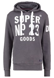 Superdry Heritage Beach Hoodie Castle Rock Grey