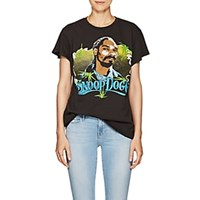 Madeworn Snoop Dogg Distressed Cotton T Shirt Black