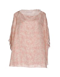 Kristina Ti Shirts Blouses Women Light Pink