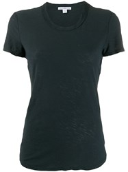 James Perse Curved Hem Shortsleeved T Shirt 60