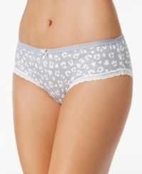 By Jennifer Moore Printed Hipster Only At Macy's Grey Leopard