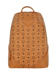 Mcm Medium Duke Faux Leather Backpack