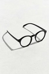 Urban Outfitters Uo Plastic Round Readers Black