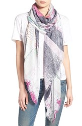 Lily And Lionel Women's Lily And Lionel 'Madison' Modal And Silk Scarf
