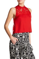 Free People Tied To You Camisole Red