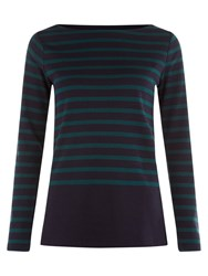 Hobbs Verity Top Teal Navy