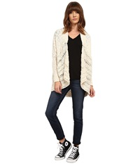 Rip Curl Raindance Cardigan Whitecap Grey Women's Sweater