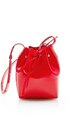 Mansur Gavriel Mini Mini Bucket Bag Red
