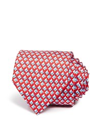 Bloomingdale's The Men's Store At Fish Classic Tie Navy Red