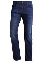 Hugo Boss Green Maine Straight Leg Jeans Blue