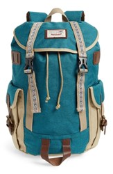 Doughnut Woodland Small Bo He Special Backpack Green Army Beige