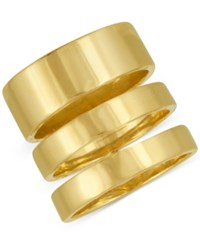 Rachel Roy Gold Tone Three Row Statement Ring