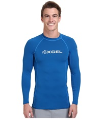 Xcel Wetsuits Debsen Xplorer L S Uv Nautical Blue Men's Swimwear
