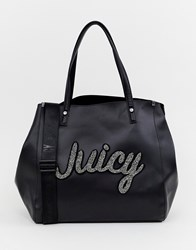 Juicy Couture Soft Tote Bag Black