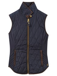 Joules Braemar Quilted Gilet Navy