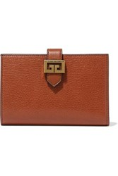 Givenchy Gv3 Textured Leather Wallet Tan