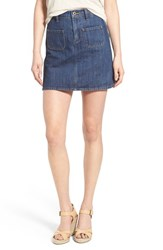 Women's Lucky Brand High Waist Denim Miniskirt