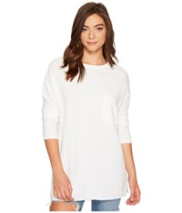 Culture Phit Orla Long Sleeve Top With Pocket White Women's T Shirt