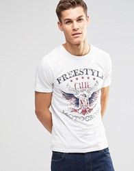 Esprit T Shirt With Print White