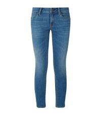 Burberry Skinny Cropped Jeans Female Denim