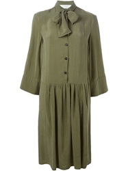 Societe Anonyme 'Formidable' Shirt Dress Green